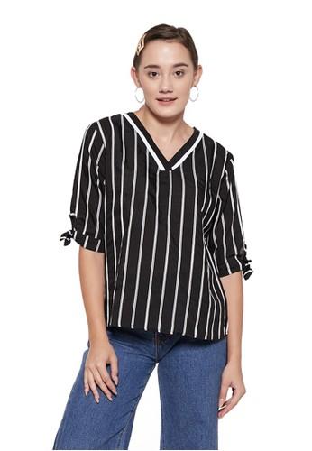 VOERIN black Mona Stripe Black CC7EBAAE5EC272GS_1