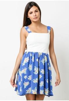 Blue Eliza Dress