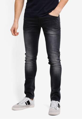 Superdry blue Skinny Jeans SU137AA0T22RMY_1