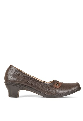 Cbr Six Women Bussiness Formal Shoes 917 (Brown)