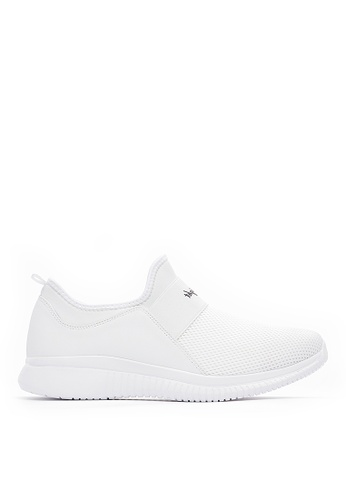 Life8 white Lightweight Casual Sport Shoes-White-09783 53D3BSHB51B069GS_1