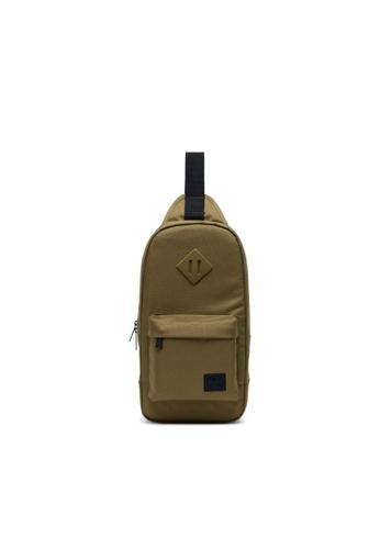 Herschel green Herschel Unisex Heritage Shoulder Bag Khaki Green - 8L 25364AC15EDFEEGS_1
