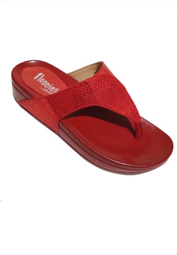 Floppies by ohrelle red Kara Flip Flops 27AD6SH7E0F379GS_1