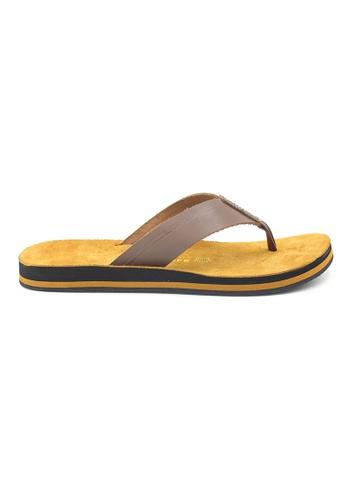 SoleSimple brown Quebec - Brown Leather Sandals & Flip Flops D6976SH619EA65GS_1