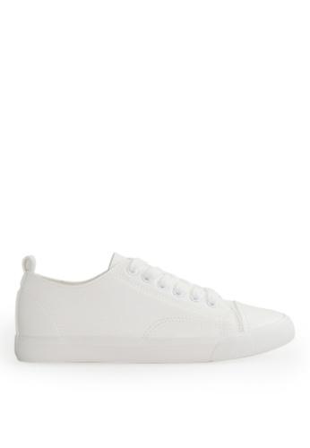 Footspot white FOOTSPOT - Four Seasons Lace-up Casual Shoes 44EA6SH16B23ACGS_1