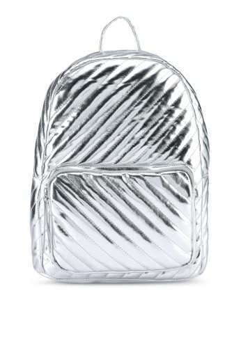 Pieces silver Pcmalou Backpack DDDC2AC7AD5B4EGS_1
