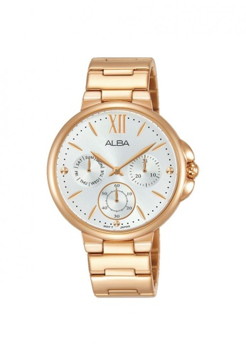 ALBA PHILIPPINES gold Rose Gold Stainless Steel Strap AP6568 Quartz Watch E9755AC70240F3GS_1