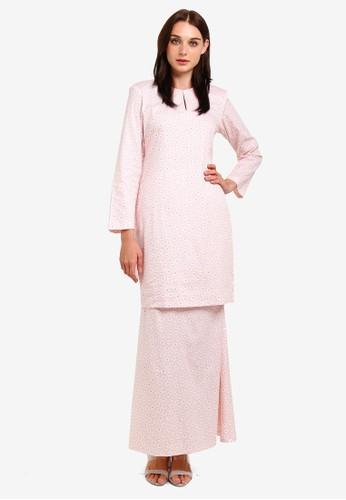 Butik Sireh Pinang pink Maissa Modern Kurung D557CAA7DA8020GS_1