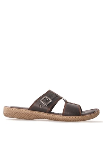 Tony Perotti brown Tony Perotti Sandal Ariel - Brown TO890SH0VNCYID_1