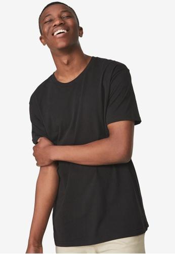 Cotton On black Essential Skate T-Shirt 91053AAFAC1615GS_1