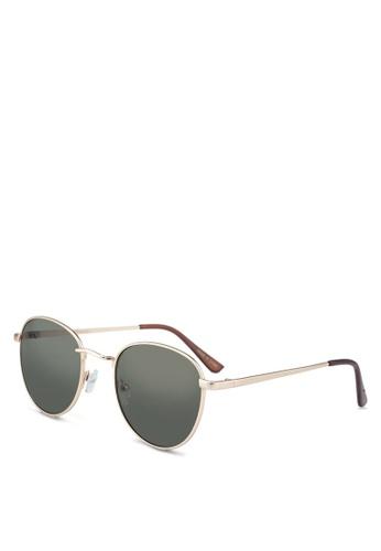 012a8c058fc32 Shop MANGO Metal Sunglasses Online on ZALORA Philippines