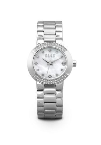 ELLE silver Fashion Ladies Watch EL900AC91WFKMY_1