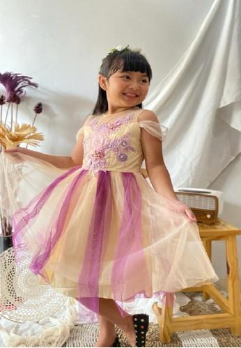 Princessa Flami yellow Dress Anak 1906 752E3KA71C93BDGS_1
