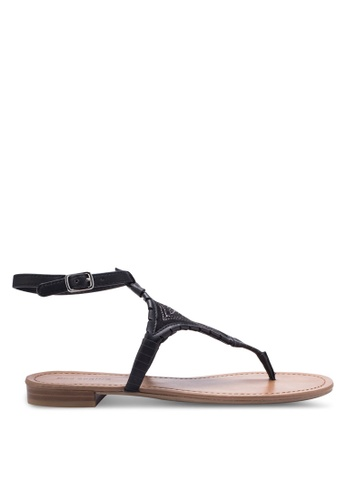 Call It Spring black Keiwia Sandals CA512SH38CHHMY_1