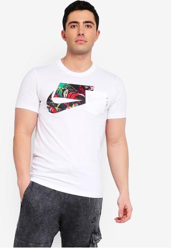 quality design 6339b 41f01 Nike white Nike Sportswear Nsw Top 941C0AA56E1DD2GS 1