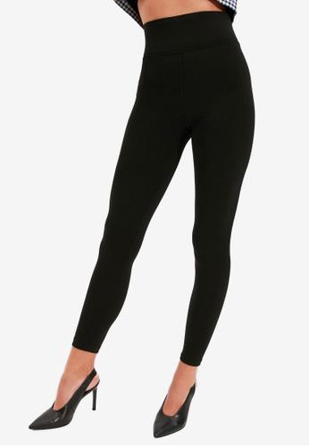 Trendyol black Basic Leggings FDA9FAAE7EB78DGS_1