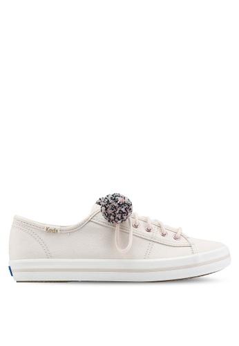 Keds 粉紅色 Kickstart Pom Pom Sneakers DCE4BSH58638EFGS_1