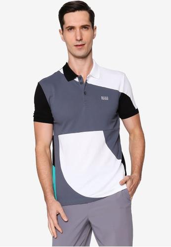 BOSS white Paddy Polo Shirt D58B5AA2424119GS_1