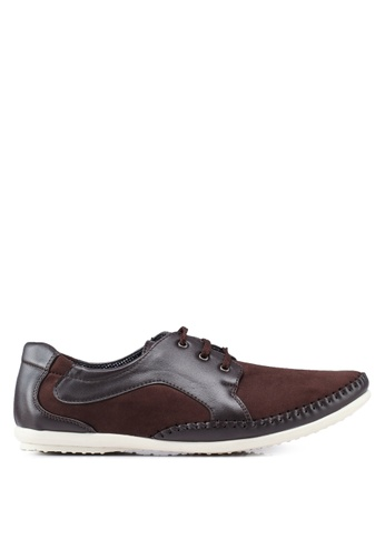 Rocklander brown Matarazo Smart Casual Shoes CD814SH806A95DGS_1