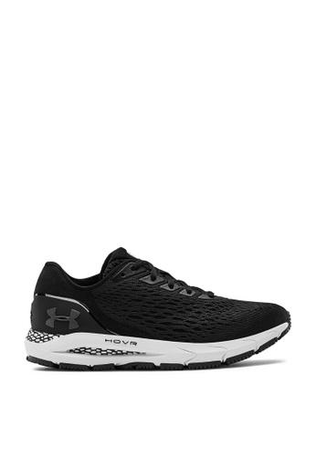 Under Armour black UA HOVR Sonic 3 Sneakers 91F4ESHBA57528GS_1