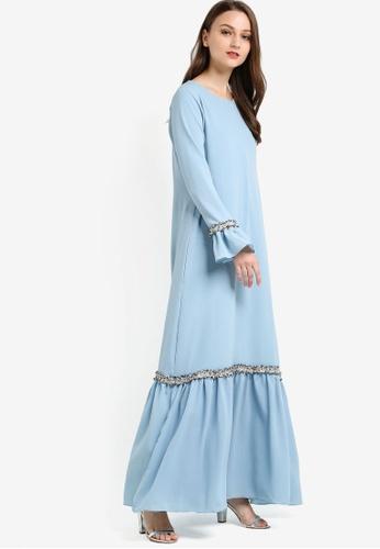 Najjah blue Ija Dress NA225AA67NJOMY_1