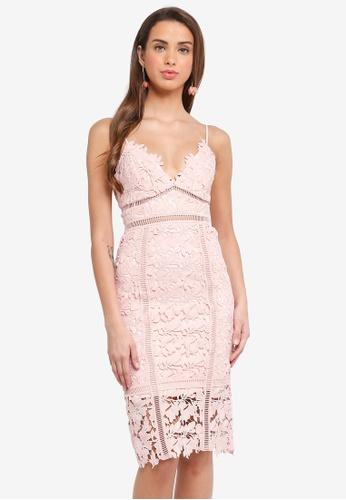 Bardot pink Botanica Lace Dress BA332AA0ST8AMY_1