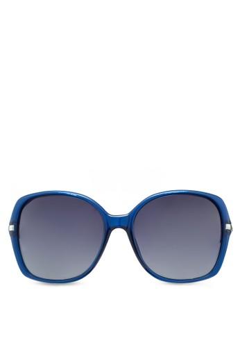 撞色矩形框esprit門市太陽眼鏡, 飾品配件, 飾品配件