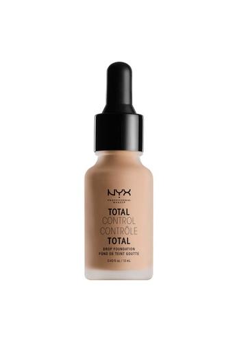 NYX Professional Makeup beige NYX Professional Makeup Total Control Drop Foundation - SOFT BEIGE 82B23BECD17C14GS_1