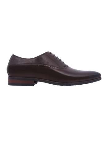 Rad Russel brown Rad Russel Lace-up Oxford - Coffee 5C920SH751AAAEGS_1