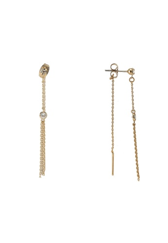 ALDO gold Dailing Pierced Earrings 8B52DACFDDB655GS_1