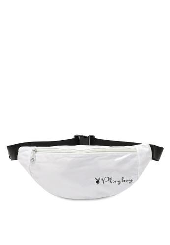PLAYBOY BUNNY white Ladies Waist Bag 3ABF3ACBB9531EGS_1