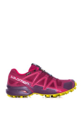 Salomon red Salomon Speedcross 4 GTX Women Beet Red/Poten 50E58SH2B45F38GS_1