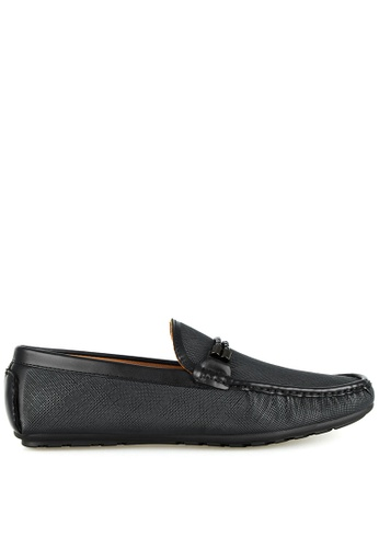 Tomaz black Tomaz C391 Braided Buckle Moccasins (Black) 8E445SHB8AF8B0GS_1