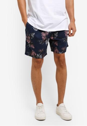 Cotton On navy Kahuna Shorts 35088AA49B3833GS_1