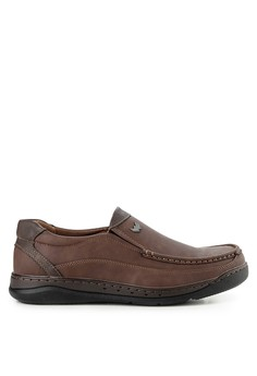 ce77d44550a0 Watchout! Shoes multi and brown Semi Moccassin 12357SH16D450AGS 1