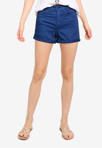 Springfield blue Coloured Denim Shorts 9FEA9AAF40F252GS_1