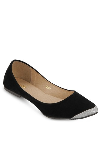 Cerelia black Monique Flatshoes CE343SH31LXWID_1