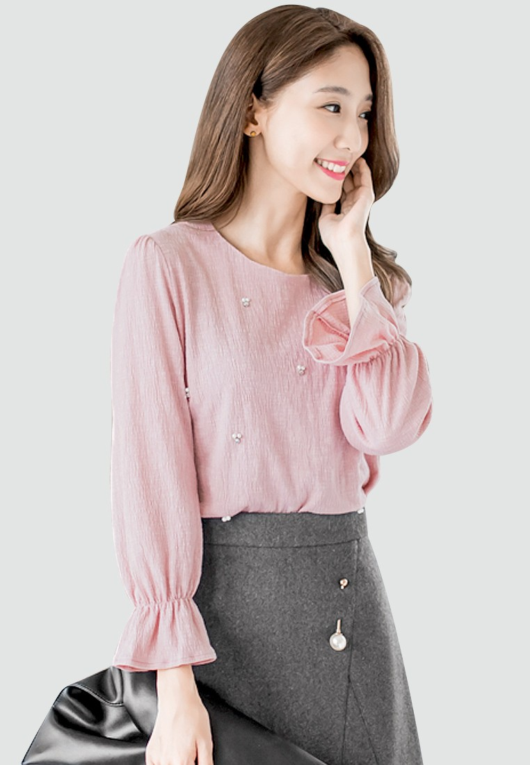 Simple Delight Embellished Top