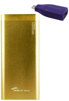 MSM.HK DUCATI iPower 12000mAh Power Bank With FREE Micro USB OTG