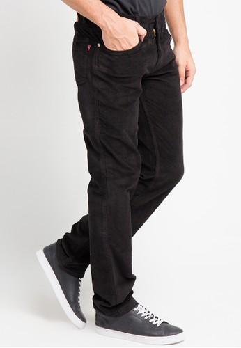 EDWIN black Edwin Long Jeans Pants 505-Cdr-Black - ED179AA0URI9ID_1