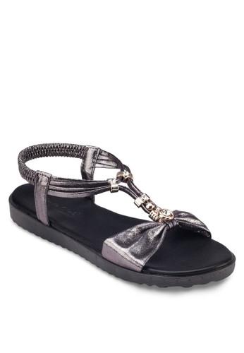 金飾T 字繞踝涼esprit 請人鞋, 女鞋, 涼鞋