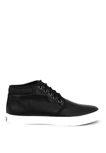 World Balance black Damien MS Slip On Sneakers C2941SH0C80597GS_1