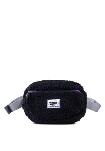 niko and ... black Shearling Waist Bag F7BD7AC8328B73GS_1