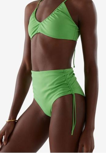 COS green Drawstring Bikini Bottom C1F6AUSC8E9EE4GS_1