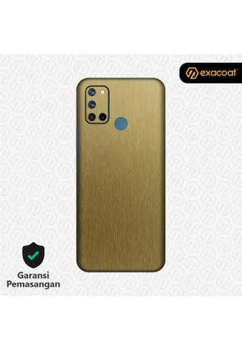 Exacoat Realme 7i 3M Skins Titanium Series - Titanium Gold E2D8CESEBD644CGS_1