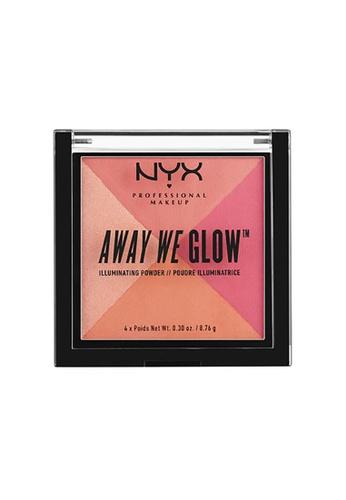 NYX Professional Makeup multi NYX Professional Makeup Away We Glow™ Illuminating Powder-CRUSHED ROSE 49614BE90BBB9CGS_1