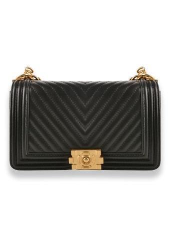 Esfolar black Esfolar Sling Bag -EA190029 8ABC9AC3DC5E16GS_1