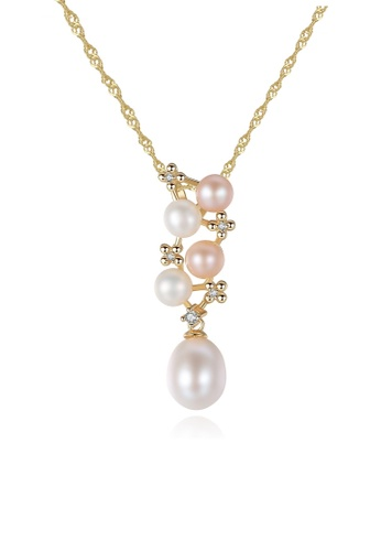 A.Excellence white Premium White Pearl Elegant Necklace A4266ACAFD71C2GS_1