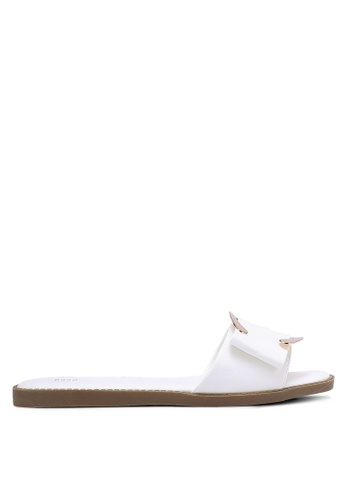 Nose white Casual Slip-On Sandals NO327SH0RC84MY_1
