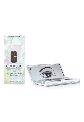 Clinique CLINIQUE - All About Shadow Quad - # 09 Smoke and Mirrors 4x1.2g/0.04oz 44B5CBE425DEE1GS_1